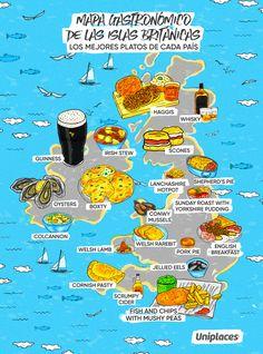 Donde fueres... ¡come lo típico! Seis mapas gastronómicos de Europa