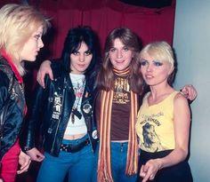 Debbie, Joan Jett and the Runaways 1978