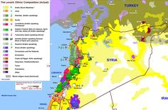 The one map that shows why Syria is so complicated. Interesting link when discussing Yugoslavian war & nationalism.