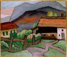 Gabriele Munter Farmhouse 1935 San Diego Museum of ARt