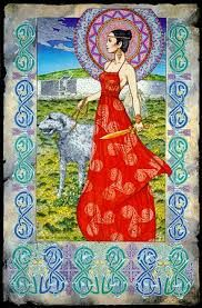 Boann Bru Na Boinne. This print from original Celtic art painting features Newgrange in the background and the Goddess Boann is walking an Irish Wolfhound. By Jim Fitzpatrick Celtic Fantasy Art, Celtic Art, Jim Fitzpatrick, Irish Mythology, Celtic Goddess, Legends And Myths, Irish Celtic, Vikings, Fantasy Kunst