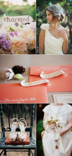Charmed! Glitter and scrolls add elements of story