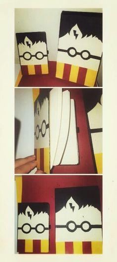 Harry potter notebook diy