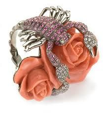 Wendy Yue coral ring.