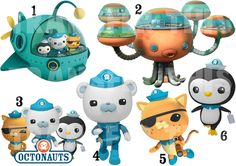 OCTONAUTS STICKER WALL DECAL OR IRON ON TRANSFER T-SHIRT FABRICS BARNACLES PESO in Home, Furniture & DIY, Children's Home & Furniture, Home Decor   eBay