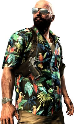 Max Payne 3 - Max is looking pretty bad ass!