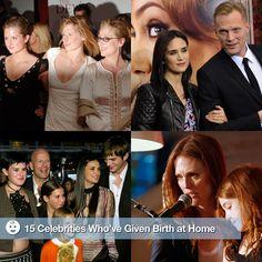 home-birth movement celebrities
