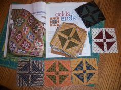 odds and ends from American Patchwork and Quilting June 2010
