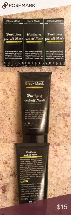 Shills Black Mask, Peel Off Mask, How To Remove, Alcohol, Things To Sell, Box, Closet, Rubbing Alcohol, Snare Drum