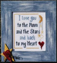 To Buy...Moon and Stars...variation on what I say to the 5 greats.