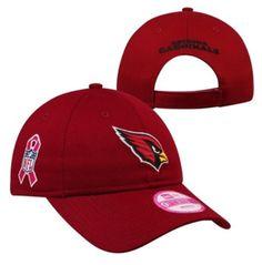 Arizona Cardinals Toddler Color Block Adjustable Hat - White/Cardinal