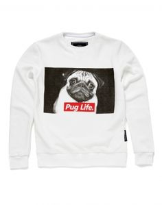 Criminal Damage Pug Life Sweatshirt
