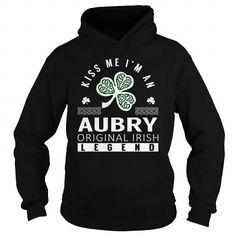 I Love AUBRY Last Name, Surname Tshirt T shirts