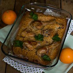 Miodowo- pomarańczowe pałki z kurczaka pieczone w folii z ryżem