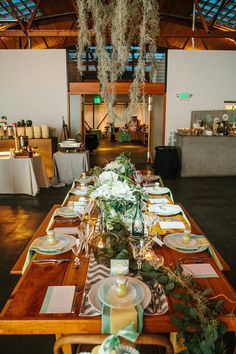Seattle Farm Tables - Twelve Baskets Catering Open House // Angela and Evan Photography
