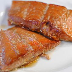 Salmon Brine (this brine is great even if you're just throwing your salmon on the grill)  3/4 c soy sauce 1 c brown sugar 1 c white sugar 2 c water 1/4 c non-iodized salt (iodized salt can add an odd flavor, use kosher or pickling salt) 2 bay leaves 1 t garlic powder 1 t ground black pepper