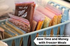 Freezer Cooking 101: Save Time and Money with Freezer Meals