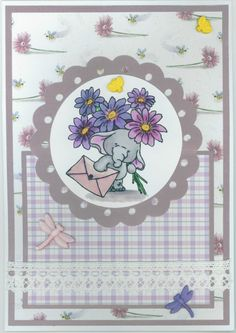 Mother's Day card 2013; Wild Rose Studio stamp; Cricut elements
