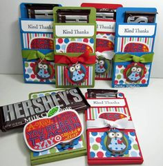 candy bar gift card holder