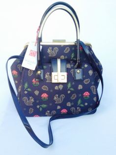 Handbag-borsa-BRACCIALINI-scoiattolo-in-tessuto-ricamato-pelle