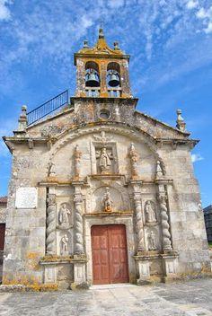 LAXE...Igrexa de Traba, A Coruña  Spain