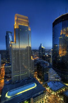 We love this view of downtown #Minneapolis as seen from our #Target Headquarters building.