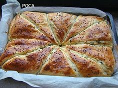 Romanian Food, Bread And Pastries, Cake Recipes, Deserts, Good Food, Food And Drink, Appetizers, Pizza, Dinner