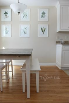 Xleg farmhouse table free and easy plans from https