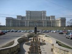 Palace of the Parliament, Romania. The world's largest, most expensive and heaviest civilian administrative building