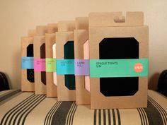 Grayhood tights & sock packaging