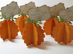 SWEET PEA - BUNNY: Thanksgiving Place Cards or Picture Holder