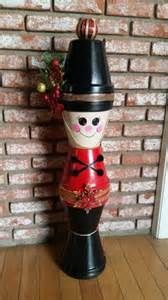 Nutcracker out of flower pots | christmas: nutcrackers/ tin soldiers ...