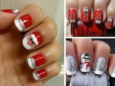 motivos navideños para uñas