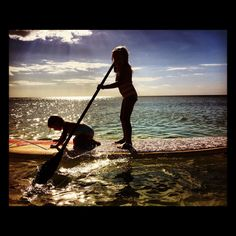 kids stand up paddle boarding  SupMommys on facebook  http://papasteves.com/
