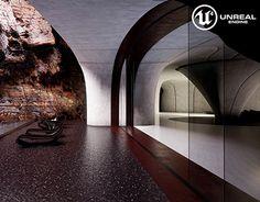"Check out new work on my @Behance portfolio: ""Desert Retreat   UnrealEngine4"" http://on.be.net/1VlIbFv"