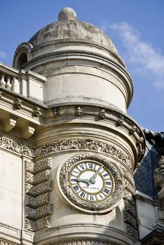 """""""The Timekeepers"""" This is a post of 7 photos of clocks taken in Paris, France by the blog Paris by Two."""