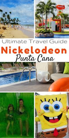 Nickelodeon Resort Punta Cana - the perfect Caribbean all-inclusive resort for your next family vacation! This is the ultimate guide about the rooms, dining, activities, transportation, and packing tips! Caribbean All Inclusive, All Inclusive Family Resorts, Caribbean Resort, Caribbean Vacations, Family Vacation Destinations, Vacation Trips, Family Vacations, Vacation Ideas, Family Trips