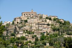Medieval town Gordes in southern France