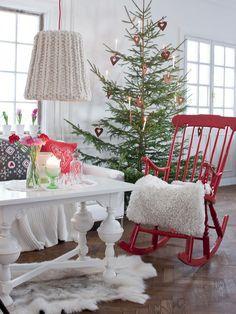 Christmas living room by sannaochsania.blogspot.fr