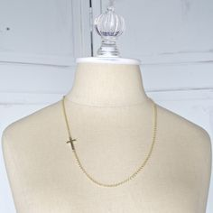 Gold Cross Necklace | The Catholic Company