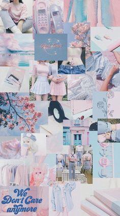 Aesthetic wallpaper pastel pink and blue 46 Ideas Wallpaper Tumblr Lockscreen, Iphone Wallpaper Vsco, Tumblr Backgrounds, Iphone Wallpaper Tumblr Aesthetic, Iphone Background Wallpaper, Aesthetic Pastel Wallpaper, Aesthetic Wallpapers, Wallpaper Quotes, Aesthetic Backgrounds