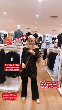 Casual Hijab Outfit, Hijab Chic, Casual Outfits, Ootd Hijab, Fashion Outfits, Modern Hijab Fashion, Hijab Fashion Inspiration, Muslim Fashion, Style Hijab Simple