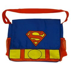 Warner Brothers Superman Diaper Bag - Blue