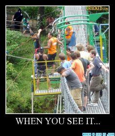 Via WHEN YOU SEE IT...eeeeek!