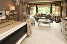 Olstad Drive Residence Master Bedroom - transitional - bedroom - minneapolis - Martha O'Hara Interiors