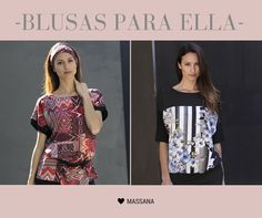 Blusas #Massana para ella #MassanaOutwear #Spring #Summer #Massana #Blusas