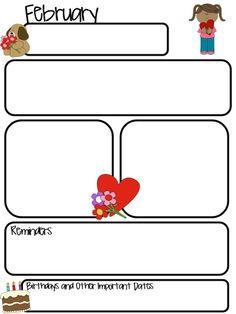 April Newsletter for ALL Grades! | Teaching Ideas | Pinterest ...