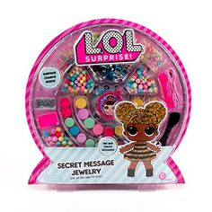 Stumbled on two more awesome LOL Surprise sets! One is a secret message jewelry set and the other is a LOL surprise light up diary with stickers! Both released on April . Jewelry Making Kits, Jewelry Kits, Jewelry Crafts, Message Secret, Alphabet Charms, Lol Dolls, Messages, Shopkins, Surprise Gifts