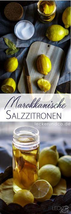Salzzitronen   Eingelgte Zitronen aus der nordafrikanischen Küche