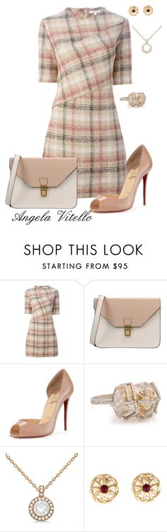 """Untitled #625"" by angela-vitello on Polyvore featuring Carven, 8, Christian Louboutin, Allurez and Givenchy"